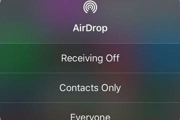 Người dùng iOS nên tắt ngay AirDrop
