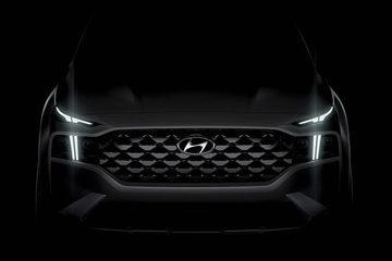 Lộ diện Hyundai Santa Fe phiên bản 2021