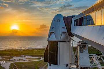 Xem trực tiếp sự kiện phóng tàu vũ trụ chở người đầu tiên của SpaceX
