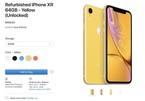 Apple bắt đầu bán iPhone XR tân trang giá 499 USD