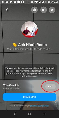 Hướng dẫn sử dụng Facebook Room