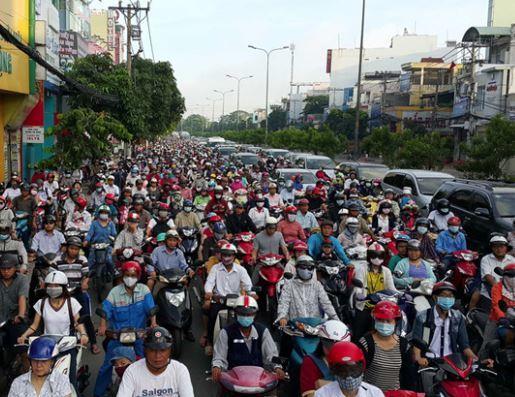 Thị trường xe máy Việt Nam sụt giảm 71% trong tháng 4/2020