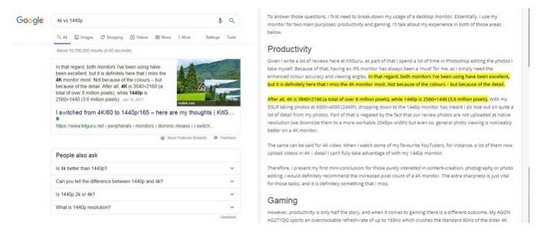 Google phổ biến rộng rãi tính năng bôi đậm nội dung, dân SEO nên biết