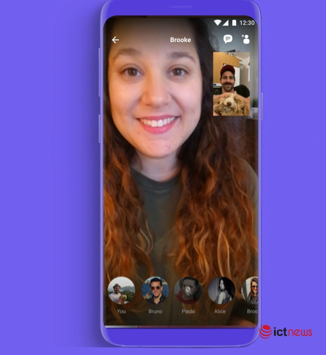 Viber tung tính năng gọi video nhóm lên đến 20 người, không giới hạn thời lượng