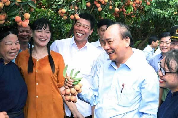 """Thủ tướng: """"Nông dân Bắc Giang phải là người tham gia thanh toán điện tử tốt nhất"""""""