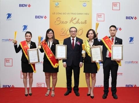 Hóa đơn điện tử MISA MEINVOICE đạt giải cao nhất tại Sao Khuê 2020