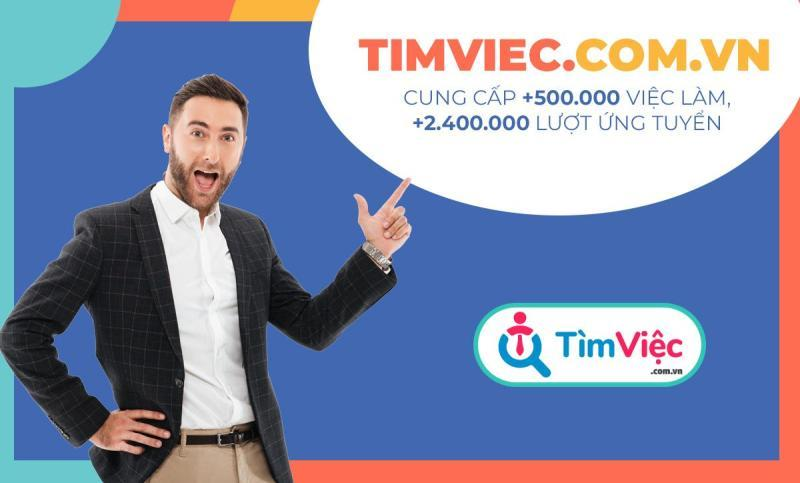 Hàng nghìn ứng viên đang tìm việc tại Timviec.com.vn