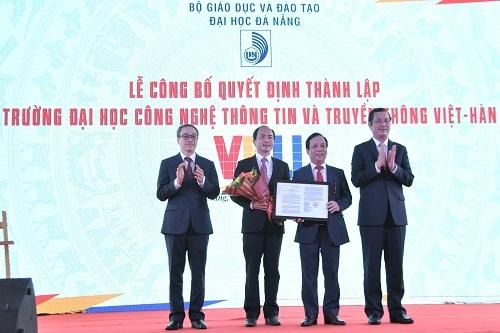 Công bố thành lập trường Đại học Công nghệ thông tin và Truyền thông Việt-Hàn