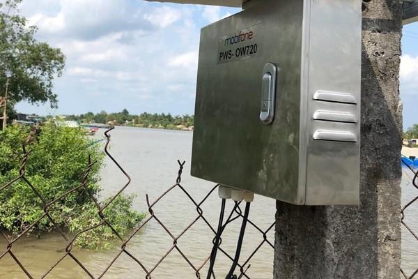MobiFone triển khai hệ thống đo tự động giúp Vĩnh Long chống nhiễm mặn