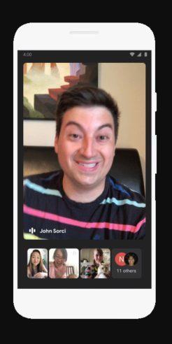 Hướng dẫn sử dụng Google Meet họp trực tuyến trên app Gmail