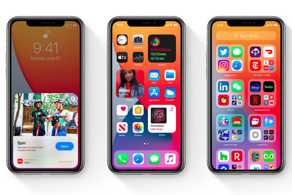 iPhone nào được nâng cấp iOS 14?