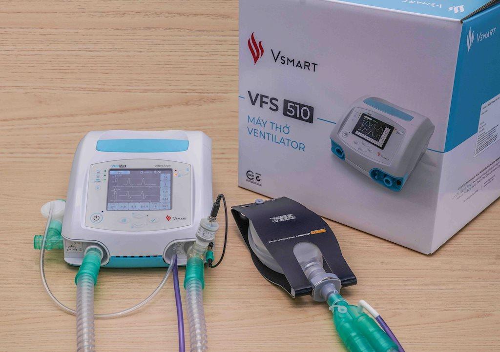 Bộ Y tế cấp số đăng ký lưu hành cho máy thở Vsmart VFS-510