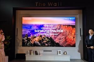 Samsung ra mắt màn hình có thể ghép với nhau lên kính thước gần 600 inch