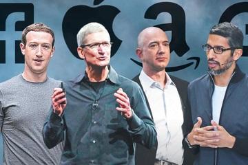 CEO Apple, Amazon, Google cùng ra điều trần trước Quốc hội