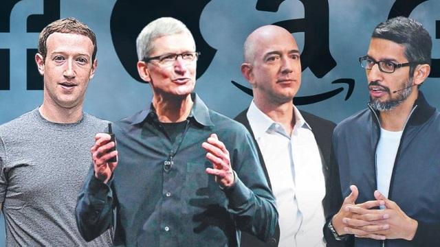 CEO Apple, Facebook, Google và Amazon cùng ra điều trần trước Quốc hội