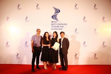 CMC được vinh danh là một trong những công ty có môi trường làm việc tốt nhất Châu Á 2020