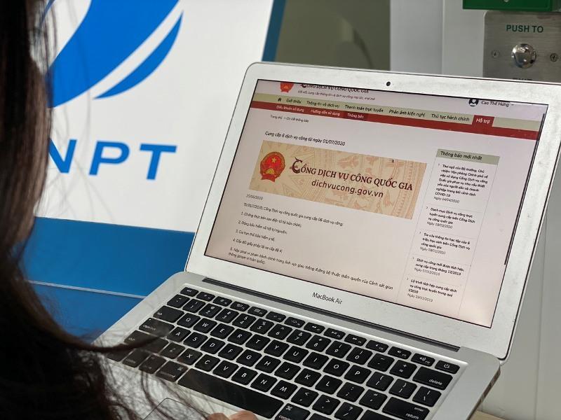 VNPT PAY cung cấp thanh toán cho toàn bộ dịch vụ trên Cổng dịch vụ công quốc gia