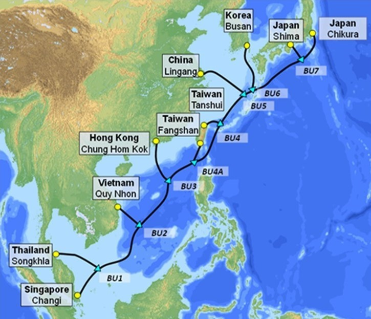 VNPT đầu tư 439 triệu USD cho tuyến cáp quang biển siêu tốc đi quốc tế
