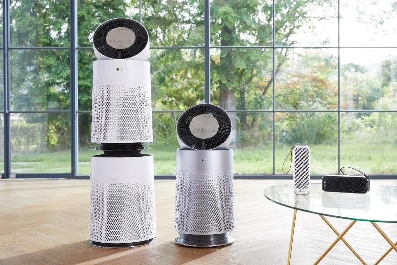 Giải pháp đột phá từ LG mang đến nguồn không khí sạch toàn diện
