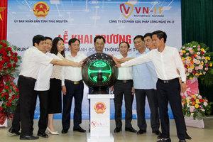 Thái Nguyên khai trương Trung tâm Giám sát điều hành đô thị thông minh
