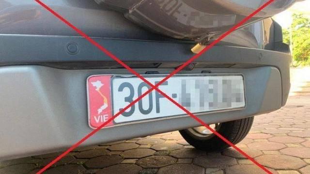 Trưng bản đồ Việt Nam thiếu Hoàng Sa, Trường Sa, chủ xe có thể bị phạt nặng