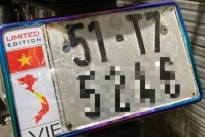 Gỡ bỏ các tin rao bán biển số xe có bản đồ vi phạm chủ quyền