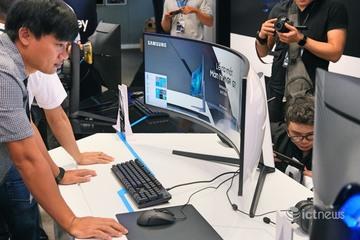 Doanh số màn hình cong bán cho game thủ vượt màn hình phẳng