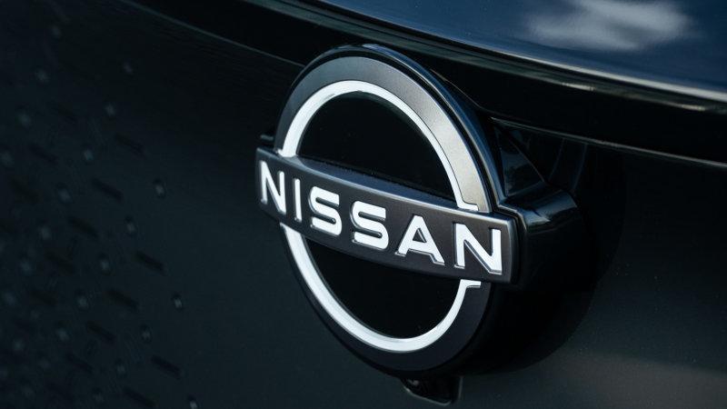Nissan dùng logo mới trên xe SUV điện Ariya