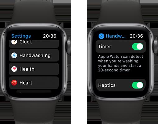 Cách dùng tính năng phát hiện rửa tay trên Apple Watch