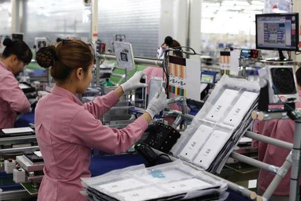 Xuất khẩu điện thoại và linh kiện 6 tháng đầu năm đạt gần 22 tỷ USD