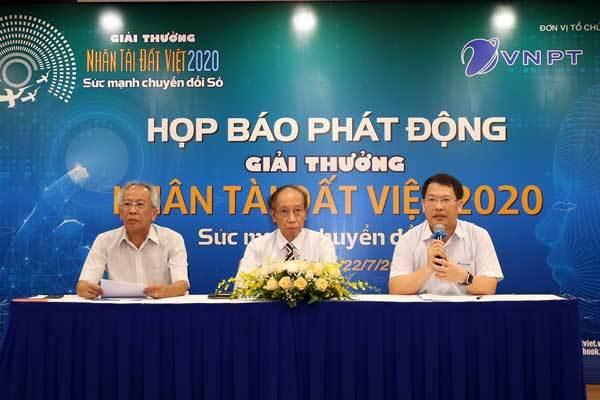 Nhân tài Đất Việt sẽ tôn vinh nhân tài xây dựng Quốc gia số