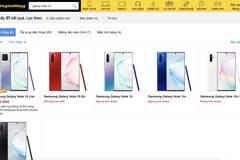 Thế Giới Di Động bất ngờ ngừng kinh doanh Samsung Galaxy Note 10,Note 10+, S20 Ultra