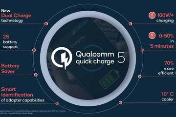 Công nghệ mới của Qualcomm sạc đầy viên pin 4.500mAh trong 15 phút
