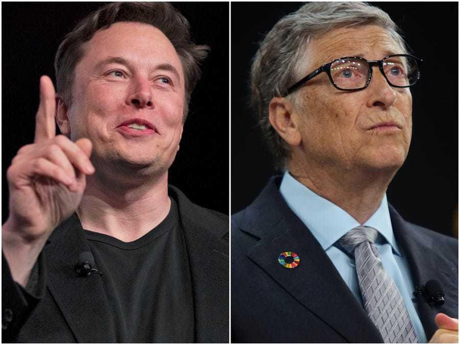 Bill Gates,Elon Musk,Covid-19