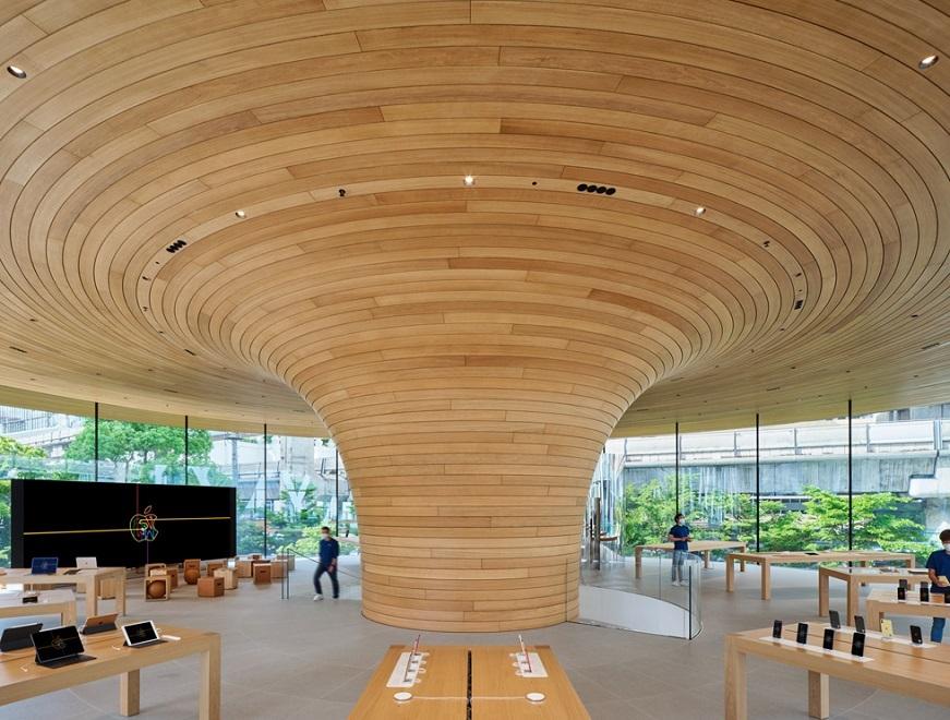 Hình ảnh Apple Store mới ở Bangkok với kiến trúc ấn tượng