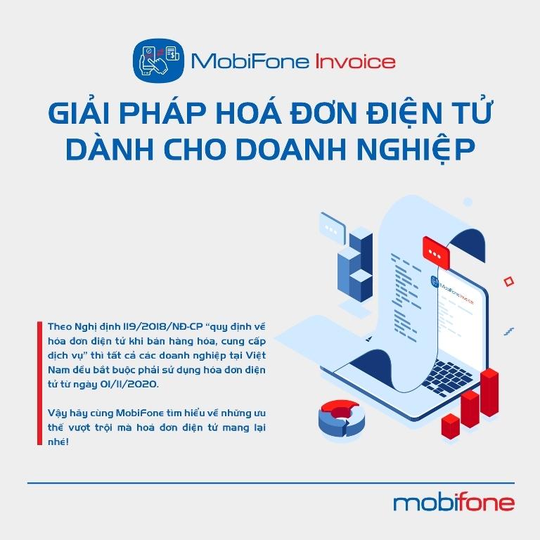 MobiFone,MobiFone Invoice,hóa đơn điện tử