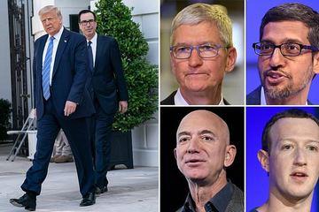 """Ông Trump dọa """"xử"""" nhóm Big Tech nếu Quốc hội Mỹ không làm gì"""