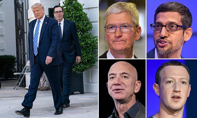 Ông Trump dọa 'xử' nhóm Big Tech nếu Quốc hội Mỹ không làm gì