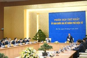 Thủ tướng phê duyệt Danh sách 19 thành viên Ủy ban quốc gia về Chính phủ điện tử