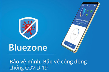 Nhiều tỉnh khuyến nghị người dân cài app Bluezone cảnh báo tiếp xúc gần người nhiễm Covid-19