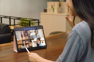Các công ty viễn thông Hàn Quốc tăng cường dịch vụ hội nghị truyền hình trong dịch Covid-19