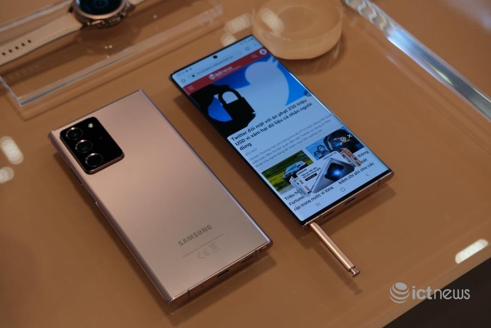 Samsung ra mắt Galaxy Note20, Note20 Ultra và Galaxy Z Fold2