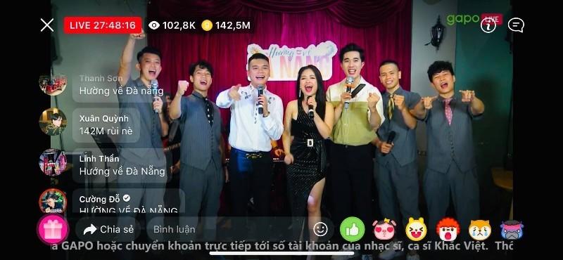 Mạng xã hội Gapo thu hút gần 200 triệu đồng tiền Donate ủng hộ Đà Nẵng