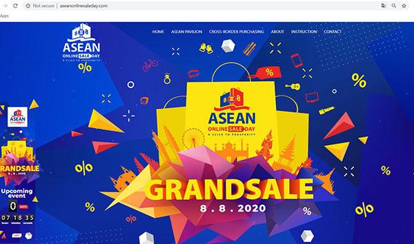 Ngày mua sắm trực tuyến ASEAN đầu tiên sẽ diễn ra vào 8/8