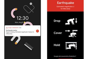 Android sắp trở thành một mạng lưới phát hiện động đất lớn nhất toàn cầu