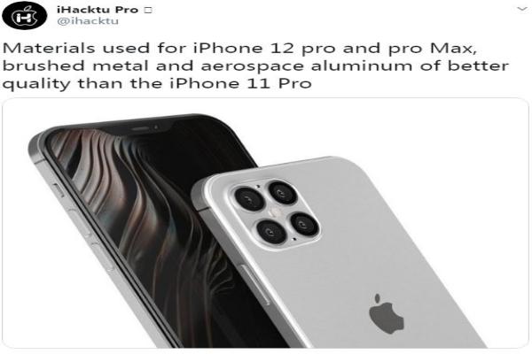 iPhone 12 được làm bằng nhôm siêu bền chuyên dụng cho ngành hàng không