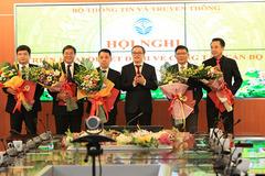 Bộ TT&TT công bố 9 quyết định công tác cán bộ tại 5 đơn vị trực thuộc