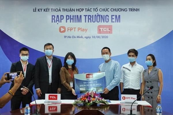 """FPT Play và TCL Vietnam cùng khởi động """"Rạp Phim Trường Em"""" mùa 2 với tổng kinh phí hơn 1,5 tỷ đồng"""