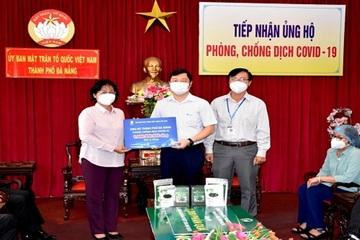 VNPT ủng hộ thành phố Đà Nẵng 1,45 tỷ đồng cho công tác phòng, chống dịch Covid-19