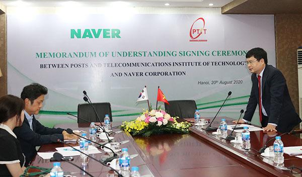 PTIT trở thành đối tác thứ hai của Naver về nghiên cứu, đào tạo AI tại Việt Nam